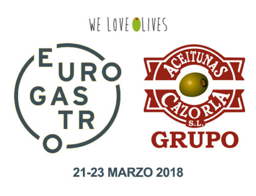 ACEITUNAS CAZORLA WILL BE AT EUROGASTRO 2018